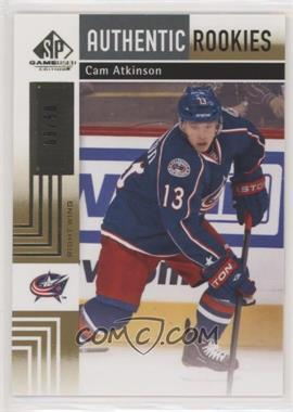 2011-12 SP Game Used Edition - [Base] - Gold #126 - Authentic Rookies - Cam Atkinson /50
