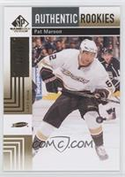 Authentic Rookies - Pat Maroon /50
