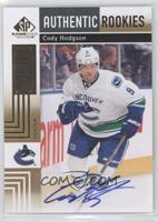 Authentic Rookies - Cody Hodgson /50