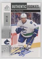 Authentic Rookies Autographs - Cody Hodgson #/10