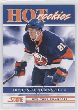 2011-12 Score - [Base] #522 - Justin Dibenedetto