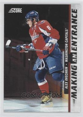 2011-12 Score - Making An Entrance #4 - Alex Ovechkin