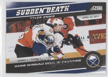 2011-12 Score - Sudden Death - All-Star 2011-2012 #19 - Tyler Ennis /5