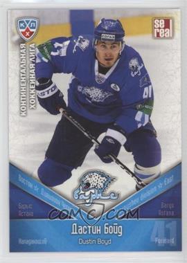 2011-12 Sereal KHL Season 4 - Barys Astana #BAR 010 - Dustin Boyd