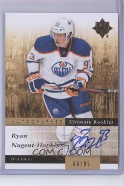 2011-12 Ultimate Collection - [Base] #121 - Ryan Nugent-Hopkins /99