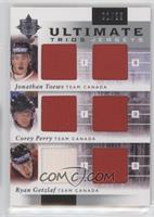 Corey Perry, Jonathan Toews, Ryan Getzlaf /25