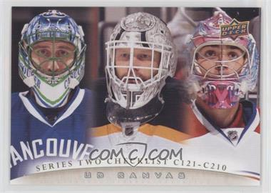 2011 12 Upper Deck Base Canvas C210 Roberto Luongo Tim