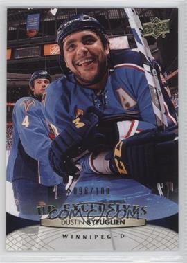2011-12 Upper Deck - [Base] - UD Exclusives #1 - Dustin Byfuglien /100