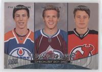 Ryan Nugent-Hopkins, Gabriel Landeskog, Adam Larsson (Checklist)