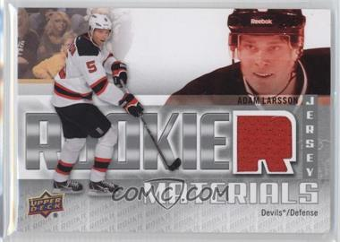 2011-12 Upper Deck - Rookie Materials #RM-AL - Adam Larsson
