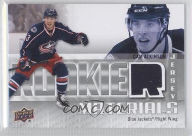 2011-12 Upper Deck - Rookie Materials #RM-CA - Cam Atkinson