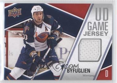 2011-12 Upper Deck - UD Game Jersey #GJ-BY - Dustin Byfuglien