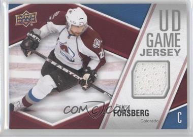 2011-12 Upper Deck - UD Game Jersey #GJ-PF - Peter Forsberg