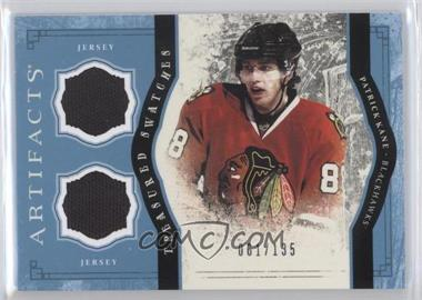 2011-12 Upper Deck Artifacts - Treasured Swatches - Blue #TS-PK - Patrick Kane /135