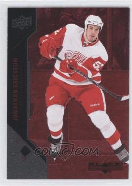2011-12 Upper Deck Black Diamond - [Base] - Ruby #99 - Jonathan Ericsson /100