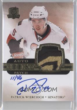 2011-12 Upper Deck The Cup - [Base] - Gold #163 - Patrick Wiercioch /46