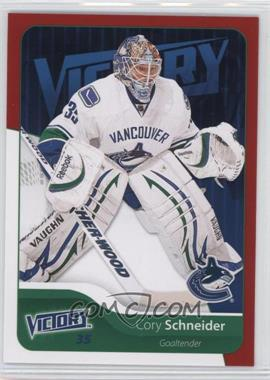 2011-12 Upper Deck Victory - [Base] - Red #182 - Cory Schneider