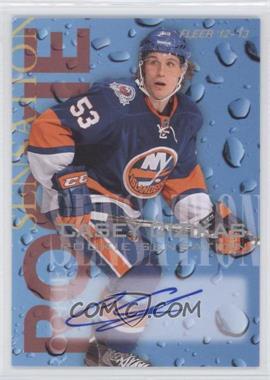 2012-13 Fleer Retro - 1994-95 Fleer Rookie Sensations Design Autographs - [Autographed] #3 - Casey Cizikas