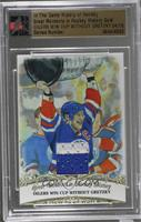 Mark Messier (Oilers Win Cup Without Gretzky) [Uncirculated] #/10