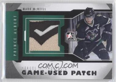 2012-13 In the Game Heroes and Prospects - Game-Used - Silver Patch #M-38 - Mark McNeill /10