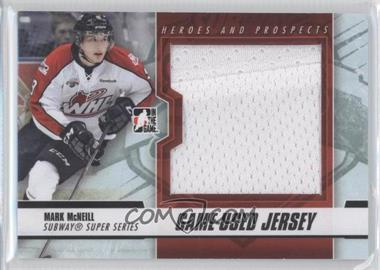 2012-13 In the Game Heroes and Prospects - Subway Super Series Game-Used - Black Jersey #SSM-44 - Mark McNeill /120
