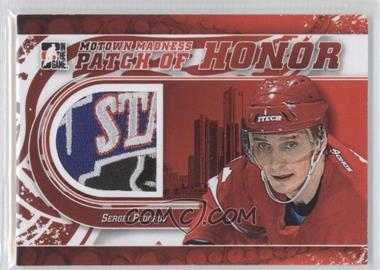2012-13 In the Game Motown Madness - Patch of Honor #PH-01 - Sergei Fedorov