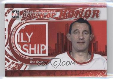 2012-13 In the Game Motown Madness - Patch of Honor #PH-21 - Bill Gadsby