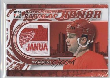 2012-13 In the Game Motown Madness - Patch of Honor #PH-42 - Dino Ciccarelli