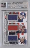 John Vanbiesbrouck, Jimmy Howard, Keith Tkachuk /24 [Uncirculated]