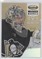 Masked Marvels - Marc-Andre Fleury /25