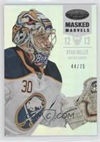 Masked Marvels - Ryan Miller #/75