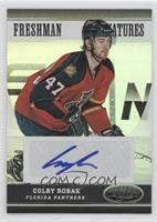 Freshman Signatures - Colby Robak #/50