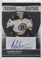 Freshman Signatures - Max Sauve #/999