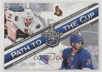 Nick Foligno, Chris Kreider #/399