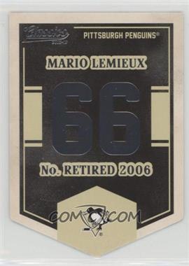 2012-13 Panini Classics Signatures - Banner Numbers #EN9 - Mario Lemieux