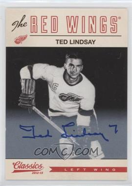 2012-13 Panini Classics Signatures - [Base] - Autographs [Autographed] #145 - Ted Lindsay