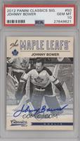 Johnny Bower [PSA 10 GEM MT]