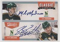 Mike Modano, Brian Bellows #/100