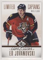 Limited Captains - Ed Jovanovski #/199