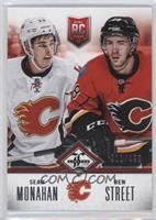 Calgary Flames (Sean Monahan, Ben Street) #/499