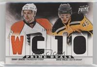 Daniel Briere, David Krejci #/200