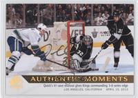 2015-16 SPA Update Authentic Moments - Jonathan Quick