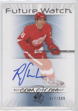 2012-13 SP Authentic - [Base] #220 - Riley Sheahan /999