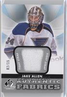 Jake Allen #/15