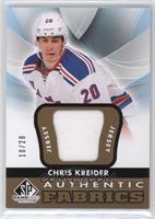 Chris Kreider #/20