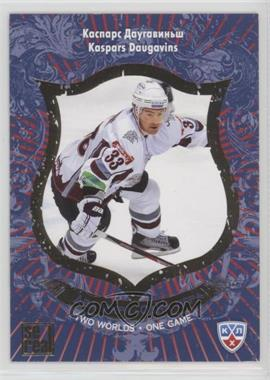 2012-13 Sereal KHL All-Star Collection - Two Worlds - One Game #TWO-005 - Kaspars Daugavins