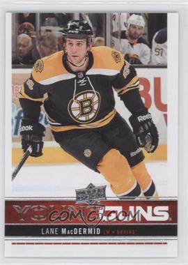 2012-13 Upper Deck - [Base] #204 - Lane MacDermid