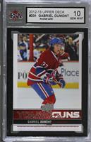 Young Guns - Gabriel Dumont [KSA 10 GEM MINT]