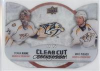 Pekka Rinne, Mike Fisher #/25
