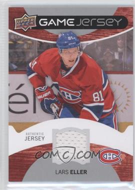 2012-13 Upper Deck - Game Jersey #GJ-EL - Lars Eller